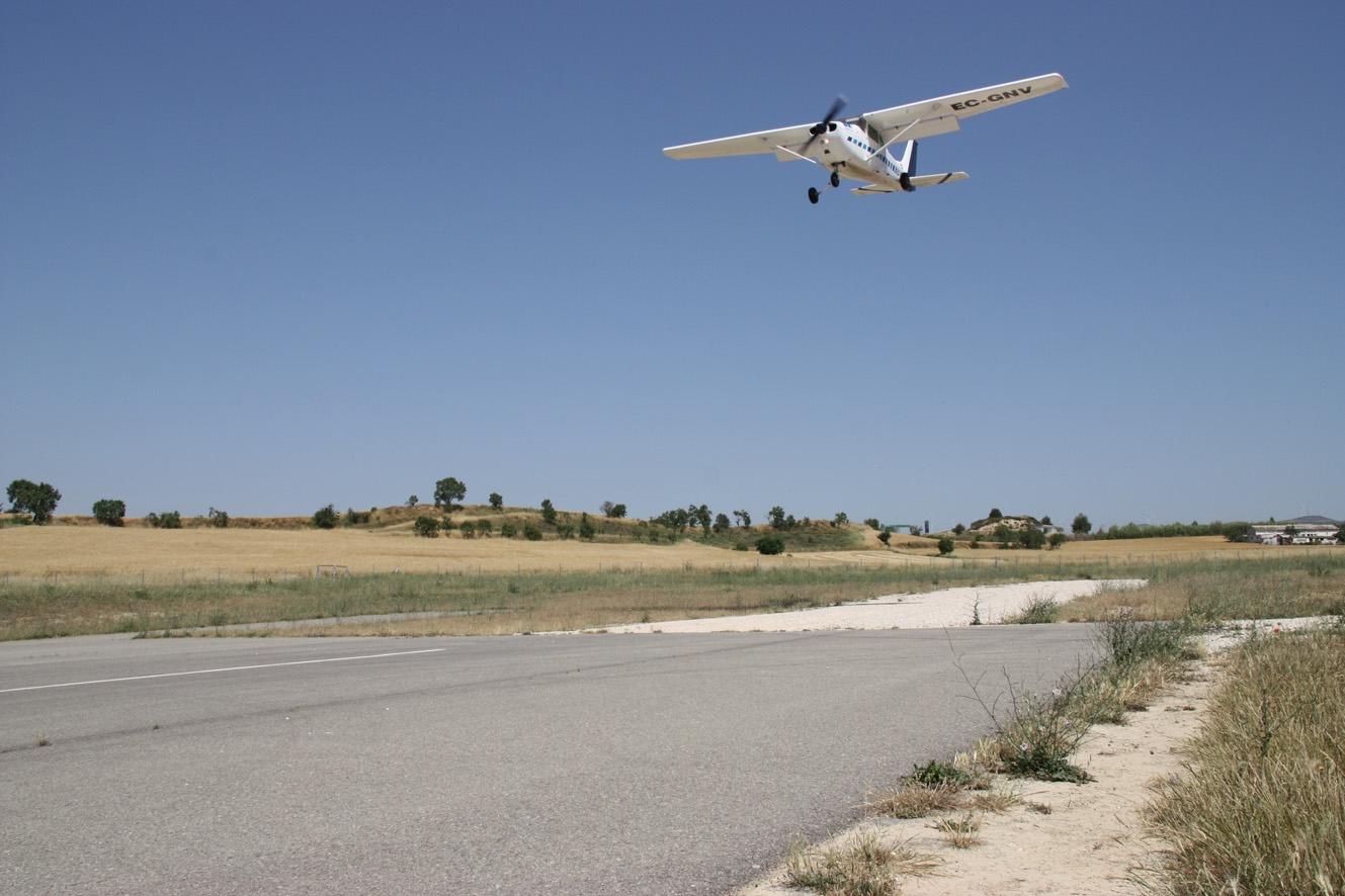 L'aeròdrom serà l'Aeroport Corporatiu de Catalunya - imatge ACN