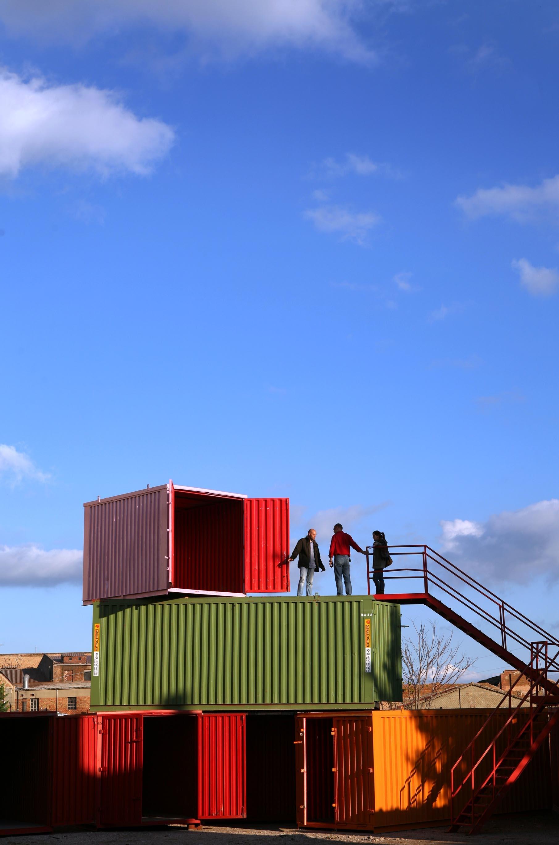 Els contenidors del Rec. Foto de Marc Vila