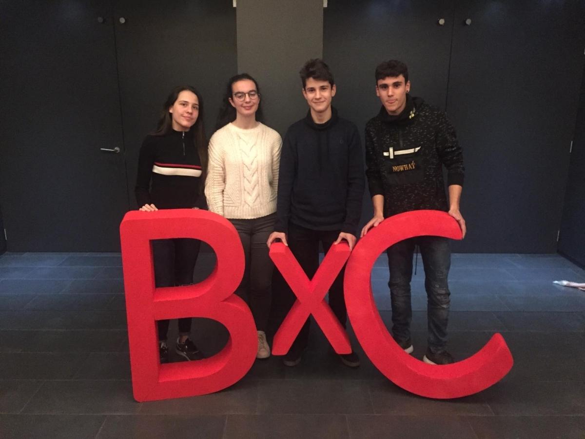 Els quatre alumnes que participen aquest 2019 al programa
