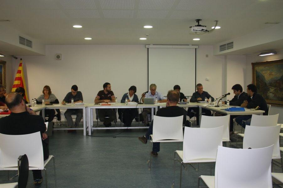 Una fotografia d'una de les sessions plenàries d'aquest mandat