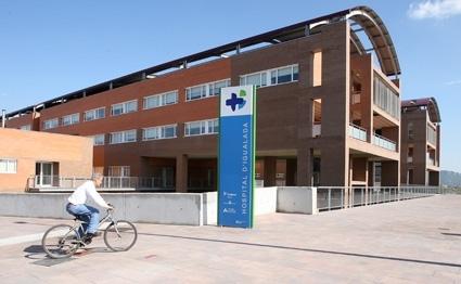 Façana exterior de l'Hospital