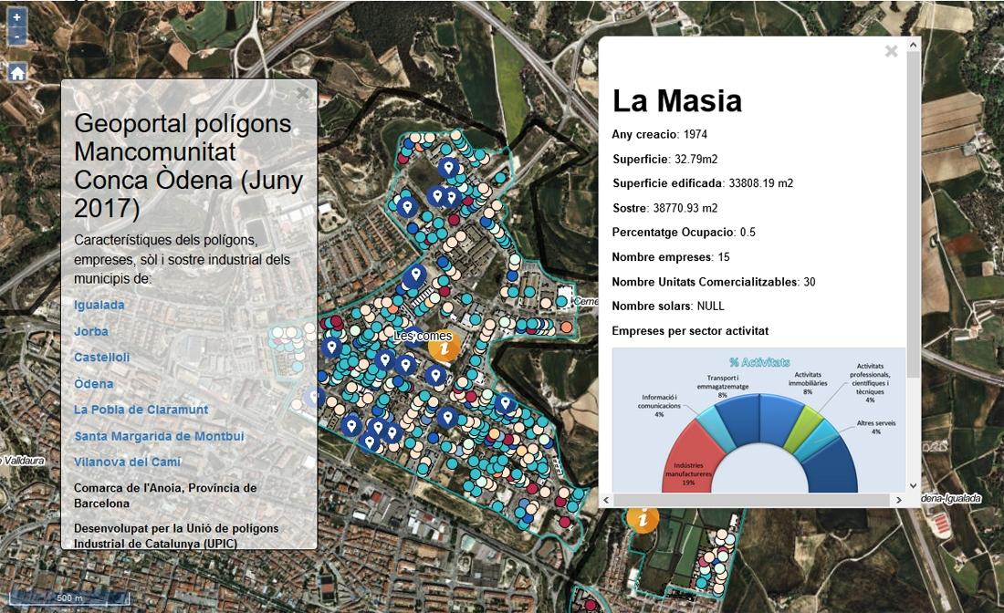 El geoportal: informació diàfana i precisa sobre el territori