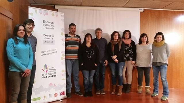 Un acte dels centres públics, a Igualada