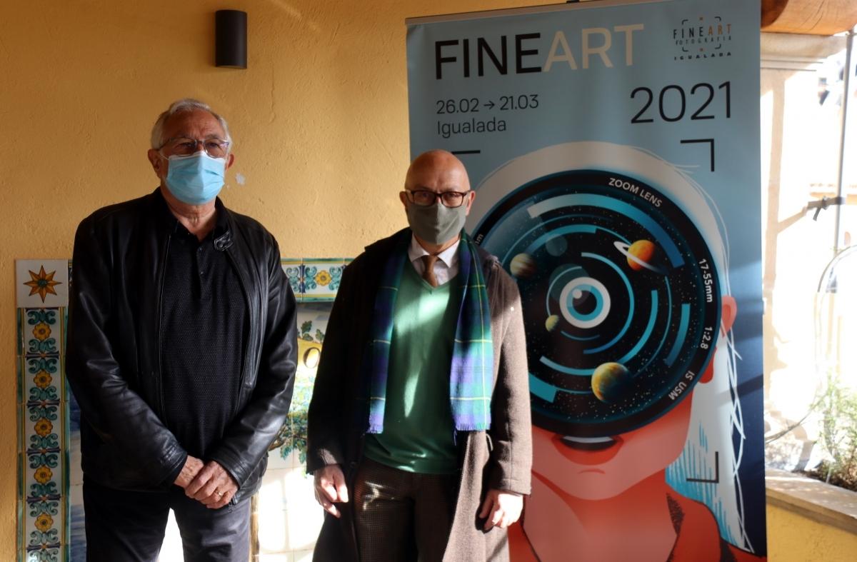 Ramon Muntané i el regidor de Cultura, Pere Camps FOTO: ACN