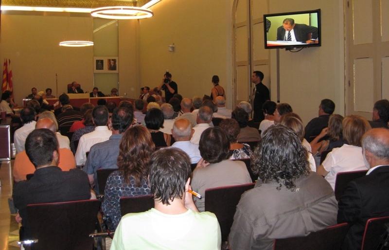 Conferència del periodista igualadí Rafael Jorba
