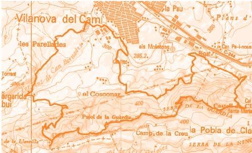 Mapa del recorregut de la 10a edició