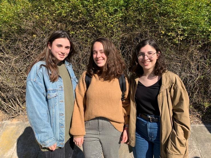 Les tres joves finalistes