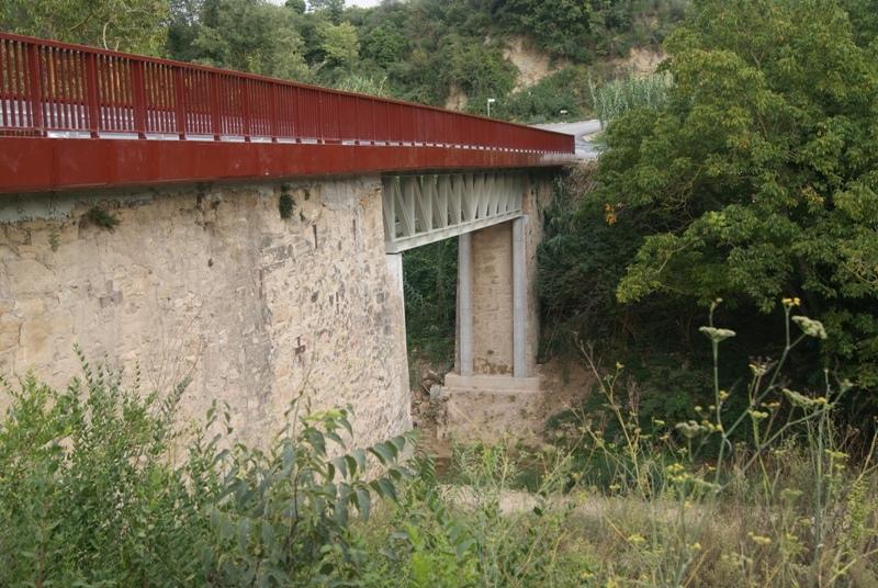 El pont de Sentfores (Tous)