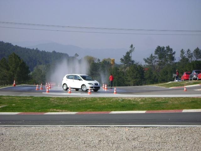 L'escola de conducció és un dels projectes en marxa al parc motor