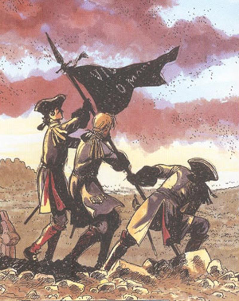La bandera negra és un símbol de la Guerra de Successió