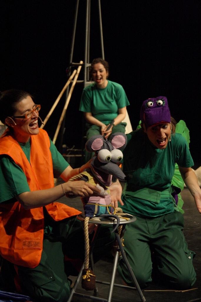 Una de les companyies emergents, Gong Teatre Musical Infantil