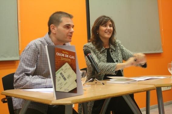Pep Elias i Laura Borràs a la presentació del llibre