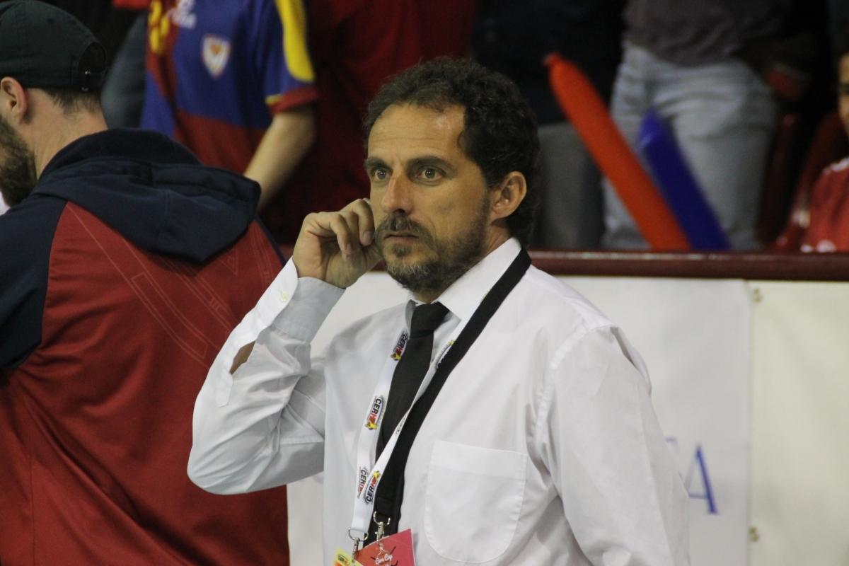 Francesc Monclús, entrenador del Monbus Igualada