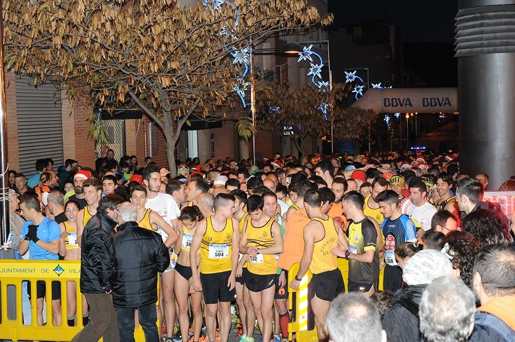 La cursa és una de les poques que se celebra a la comarca per aquestes dates.
