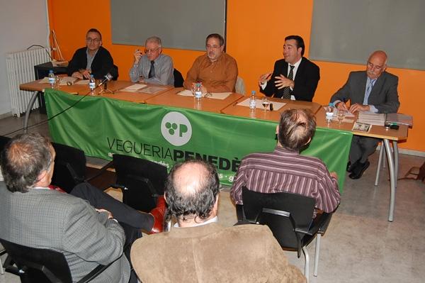 Quim Solé, Josep M. Torras, Francesc Puertas, Jordi Riba i Fèlix Simón