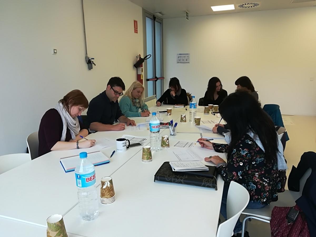 Una sessió del curs d'economia social i solidària d'Anoia Activa