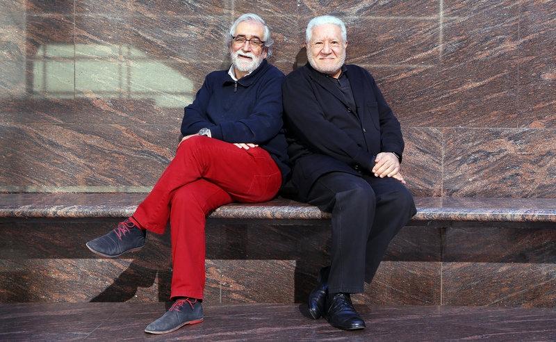 Villatoro, esquerra, i Bassat, en la imatge promocional de l'obra
