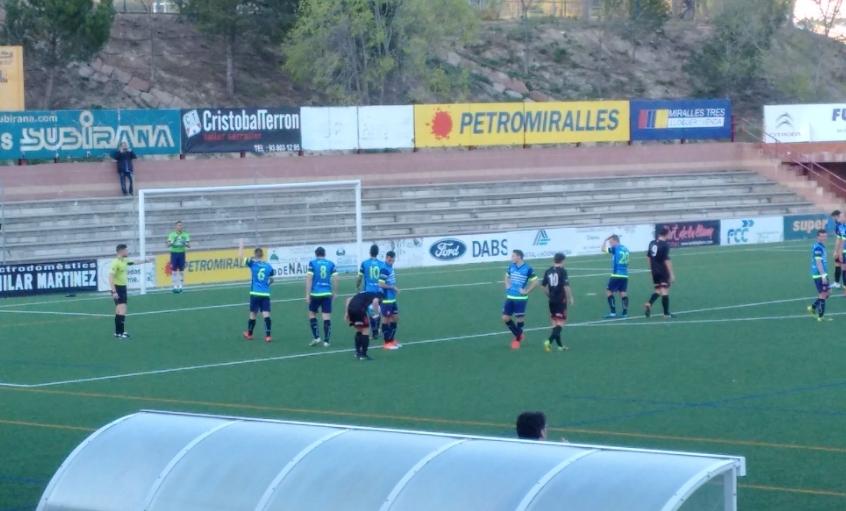 L'equip va derrotar al Reus per dos gols a un.