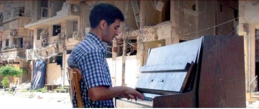 Aeham, en una imatge presa a Síria