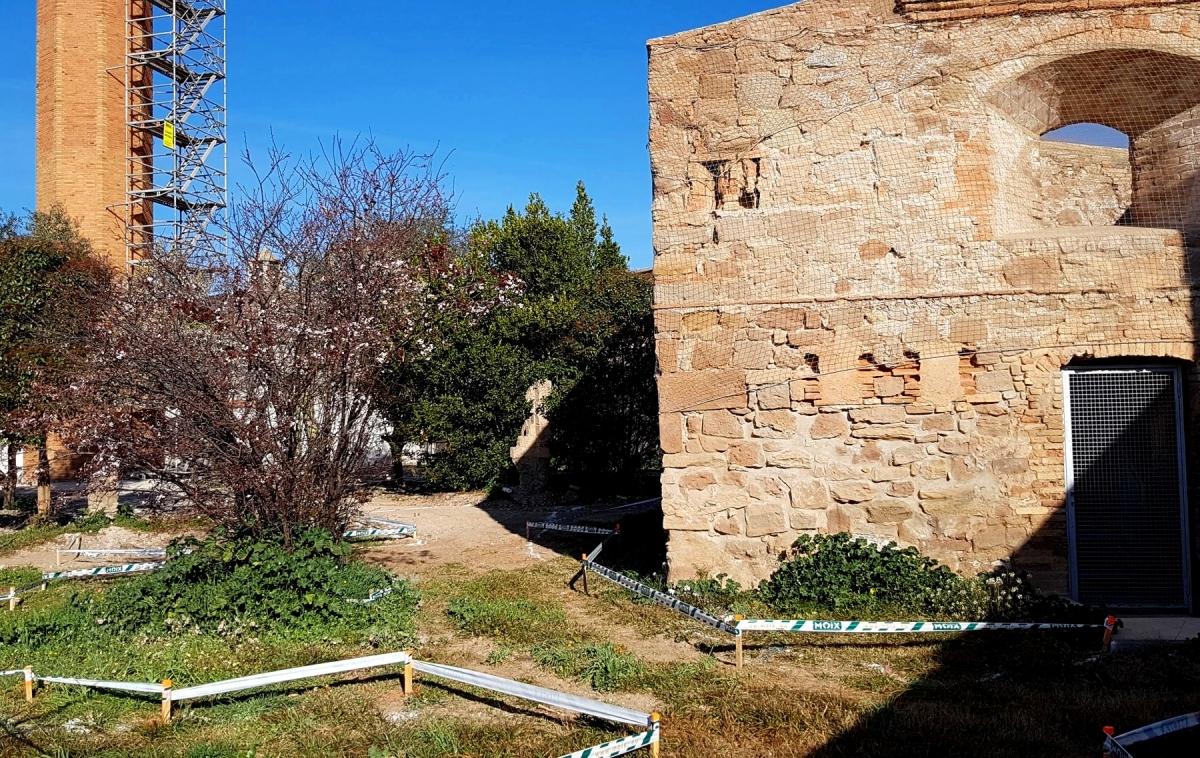 S'han engegat les obres de restauració de l'exterior