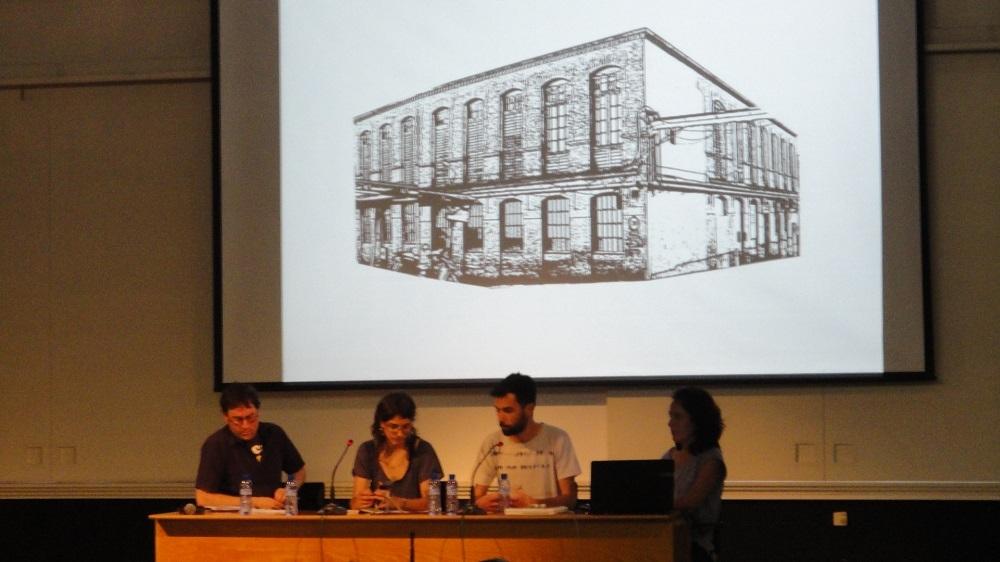 Els arquitectes de LaCol van explicar el cas de Can Batlló