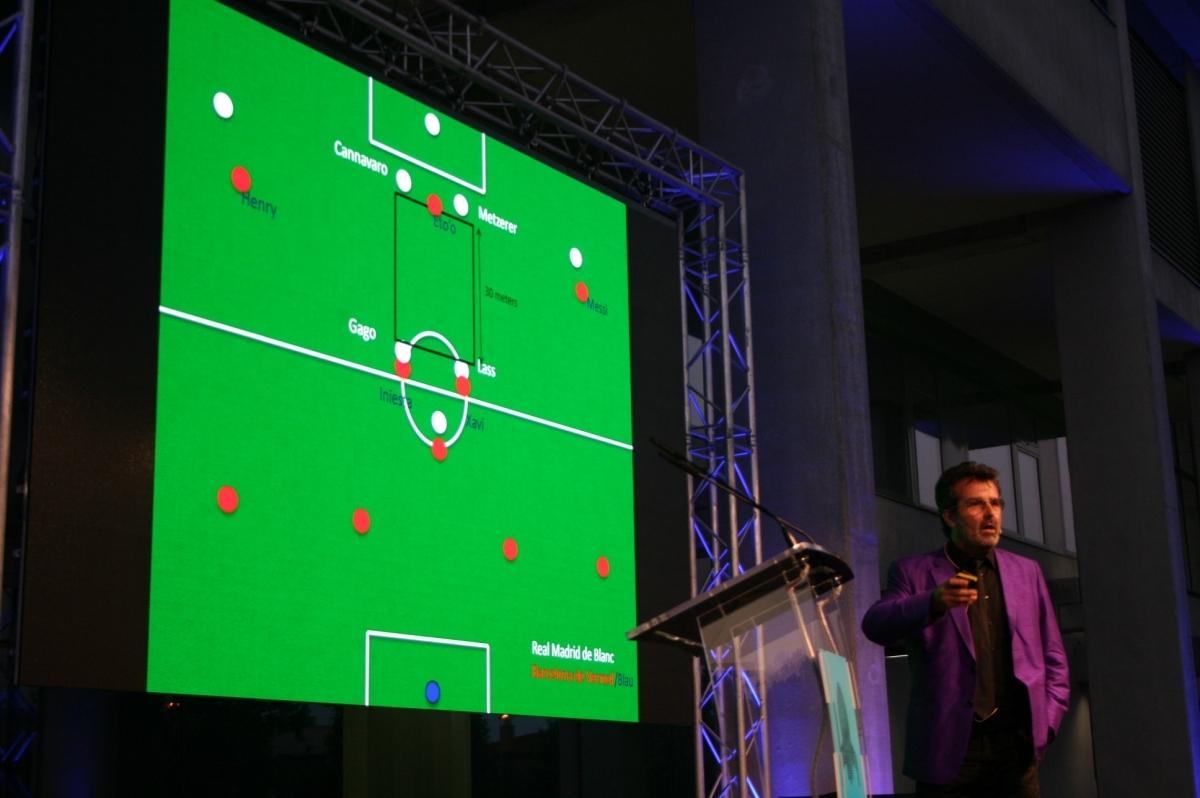 Xavier Sala-i-Martin es va inspirar en Guadiola per parlar d'innovació