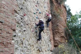 L'escalada, una de les activitats que hi haurà aquests dies al Bruc
