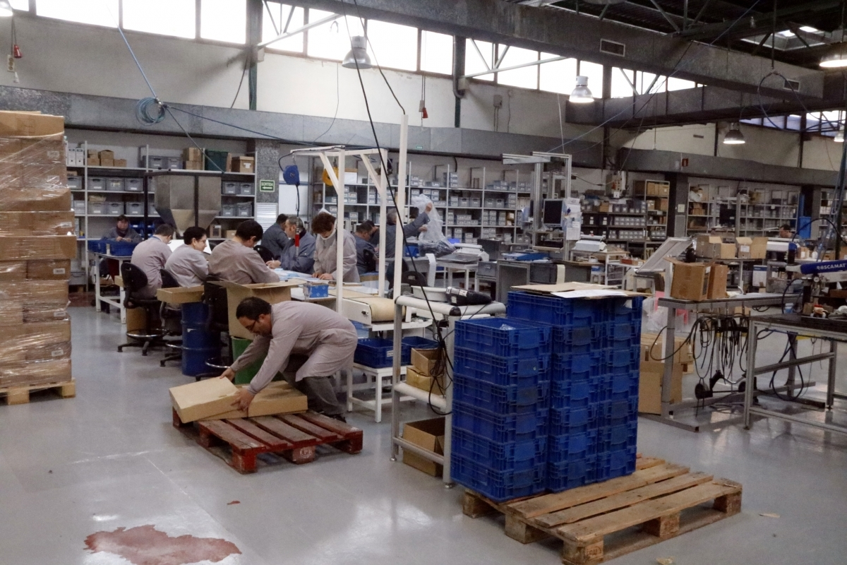 Un dels centres de treball Àuria, una imatge del 2016 FOTO: ACN