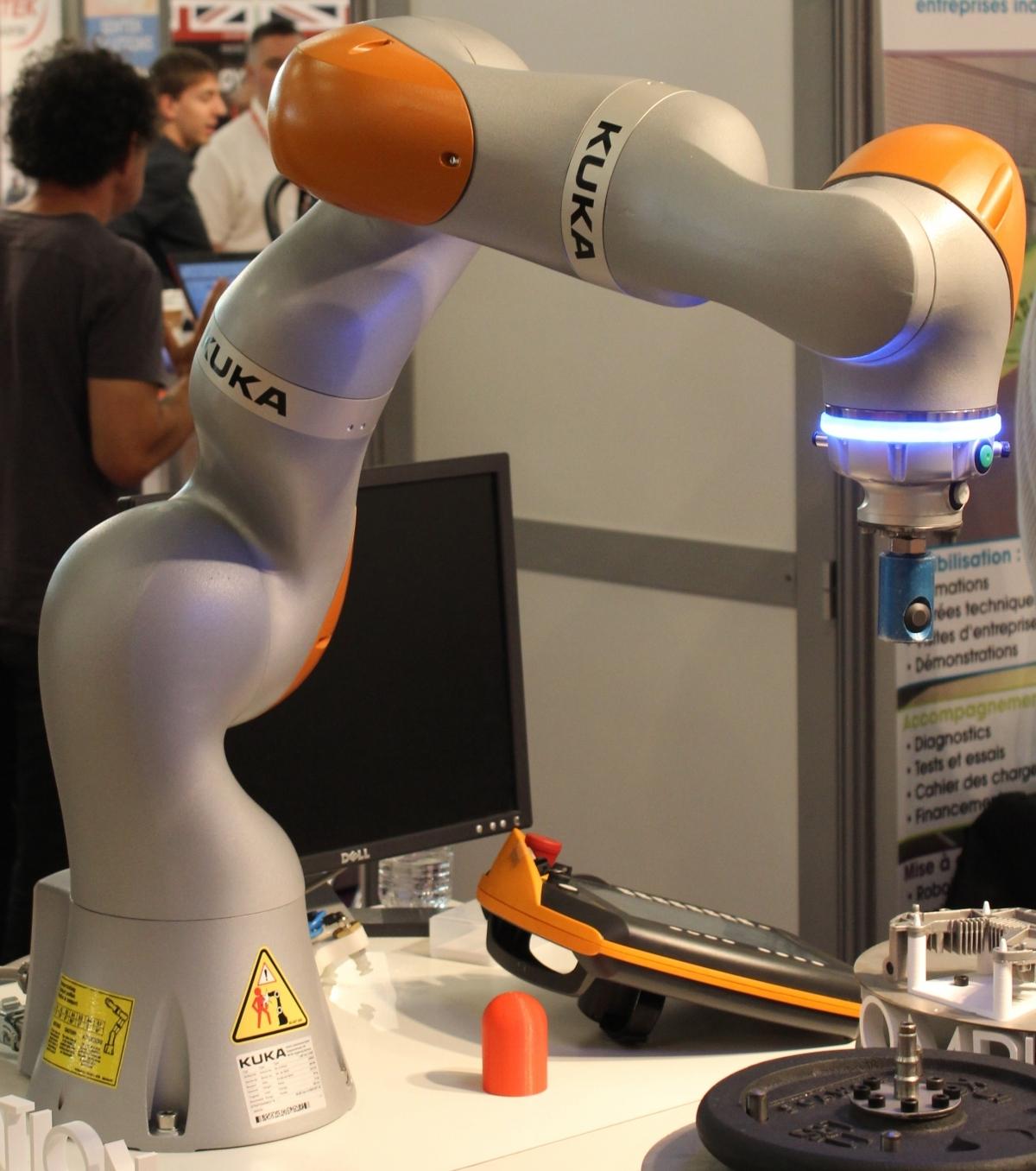 Robot col·laboratiu.