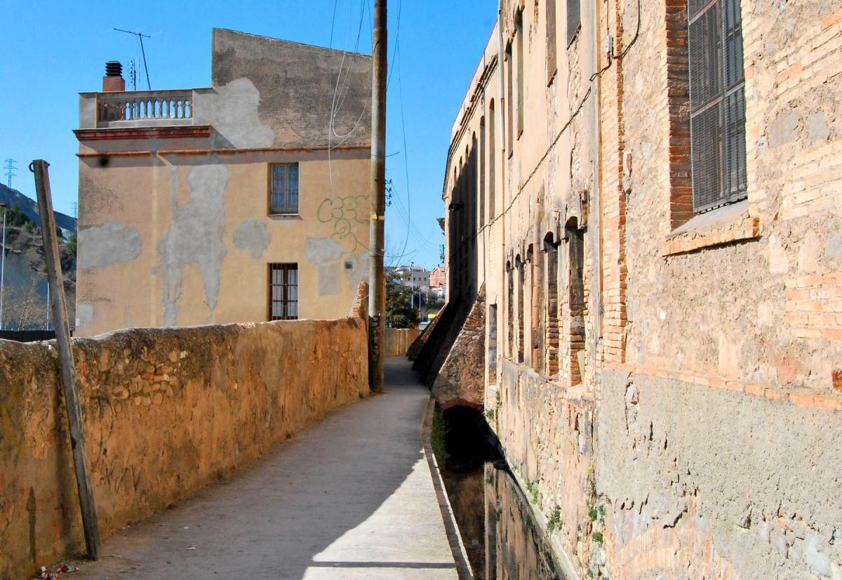 El Rec d'Igualada, vinculat a la història industrial de la vila