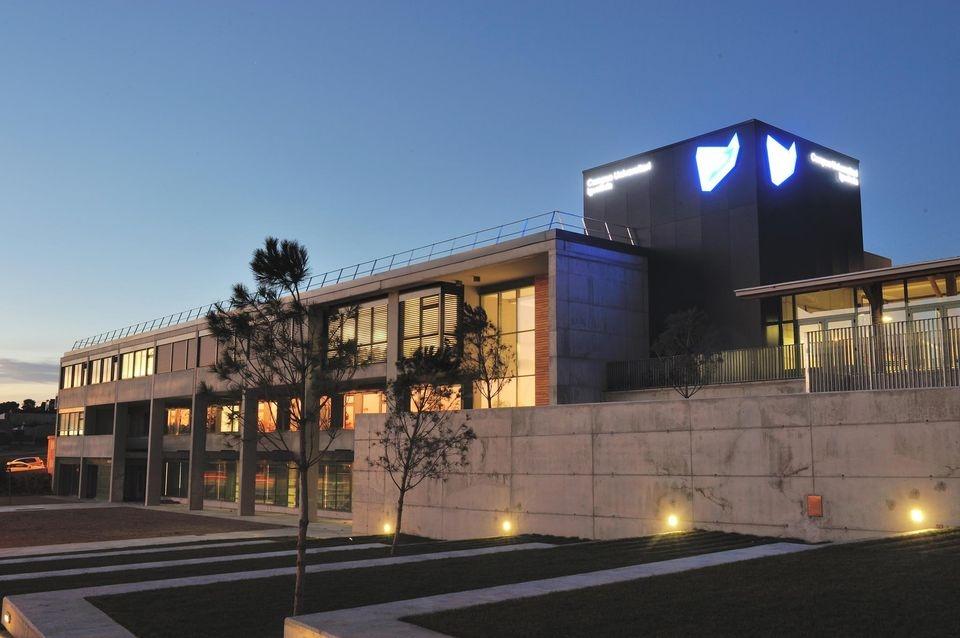 L'edifici del Campus, al Pla de la Massa