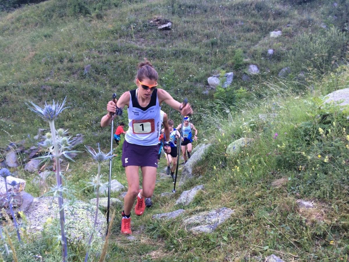 Orgué, durant la seva cavalcada als Pirineus FOTO: Marta Palau