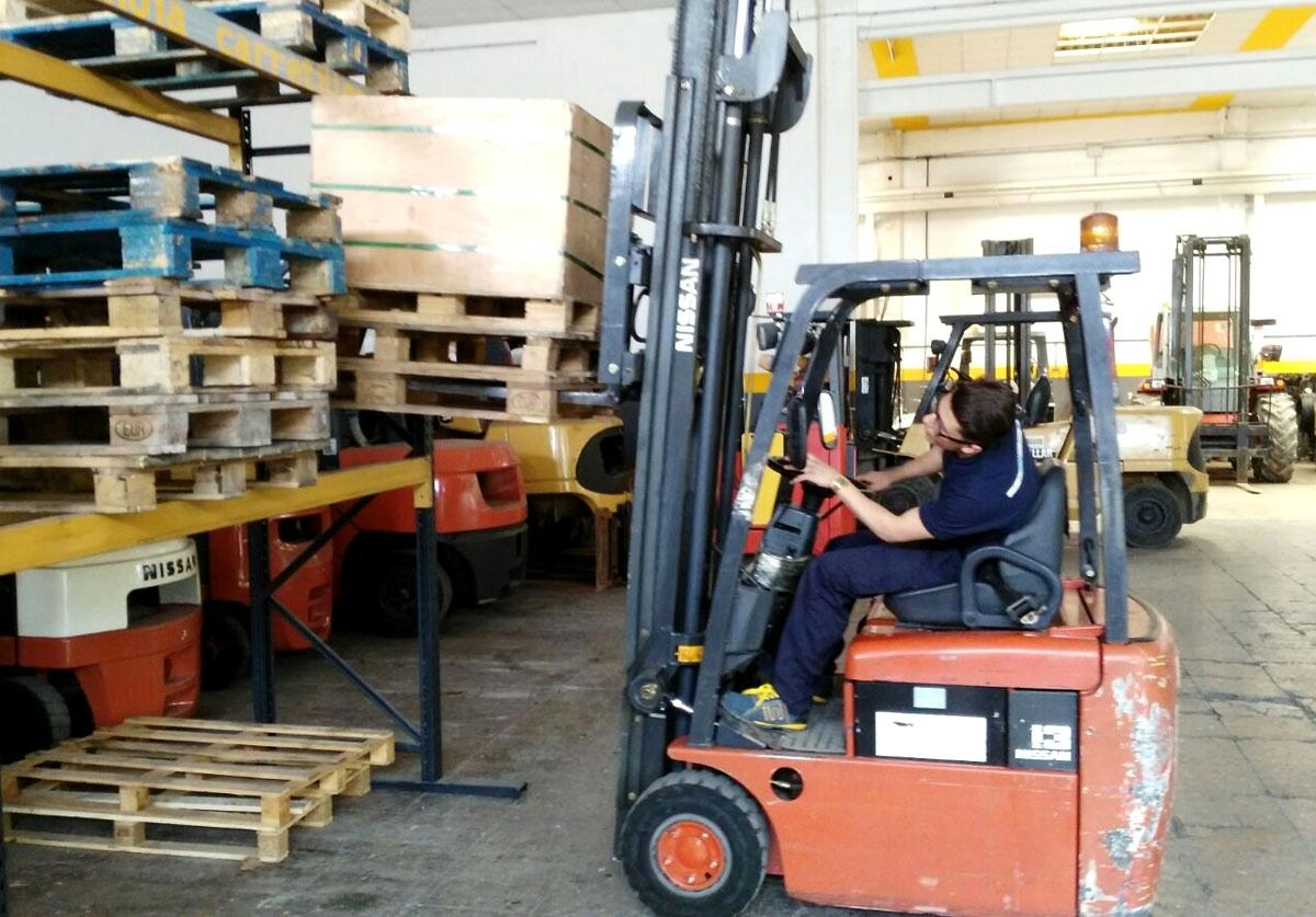 Els cursos d'auxiliar de magatzem, amb bona sortida