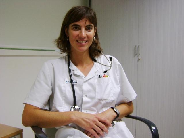 La doctora Anna Marrón