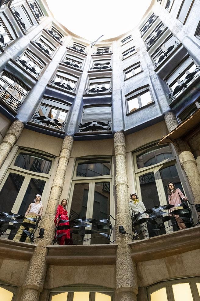 Una creació de Victor Von Schwarz Foto: 080 Barcelona Fashion)