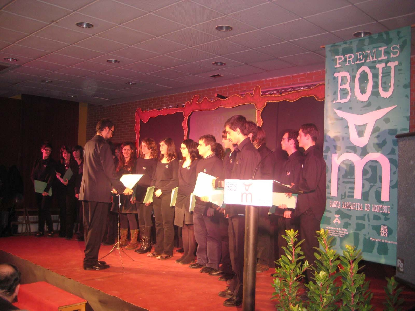 La Coral Xalest va amenitzar l'entrega de premis