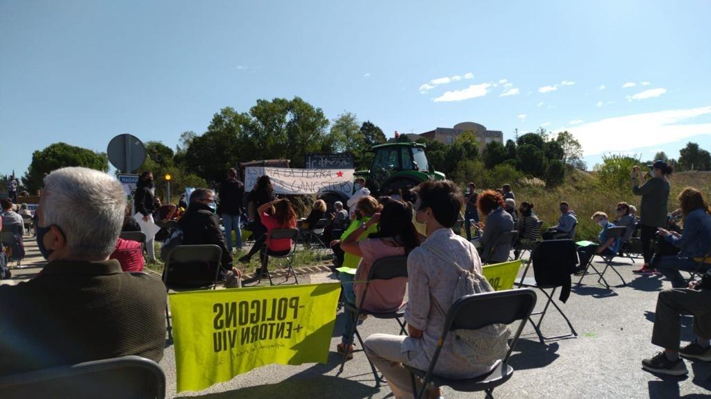 La manifestació dels col·lectius contraris al PDUAECO, el passat setembre