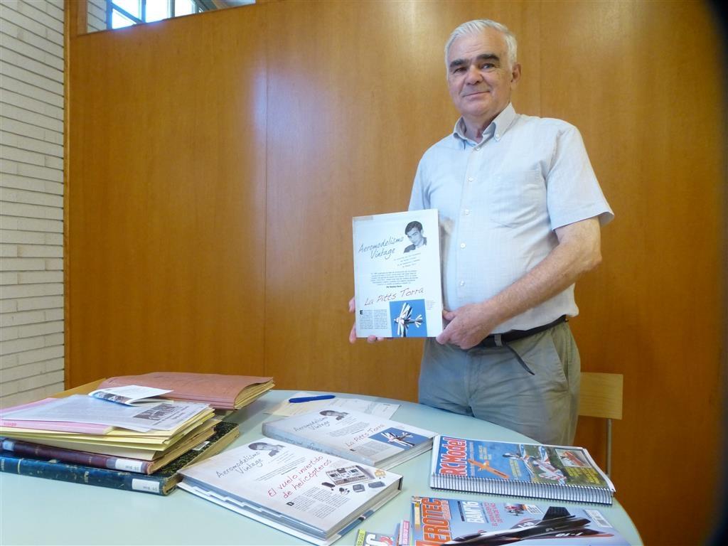 Ramon Torras, amb la seva col·lecció