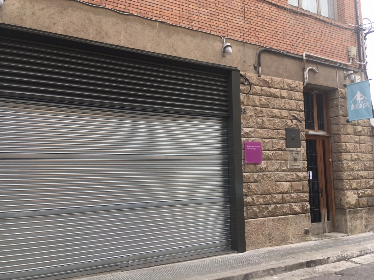 La Casa de la Cultura, al carrer Sant Carles
