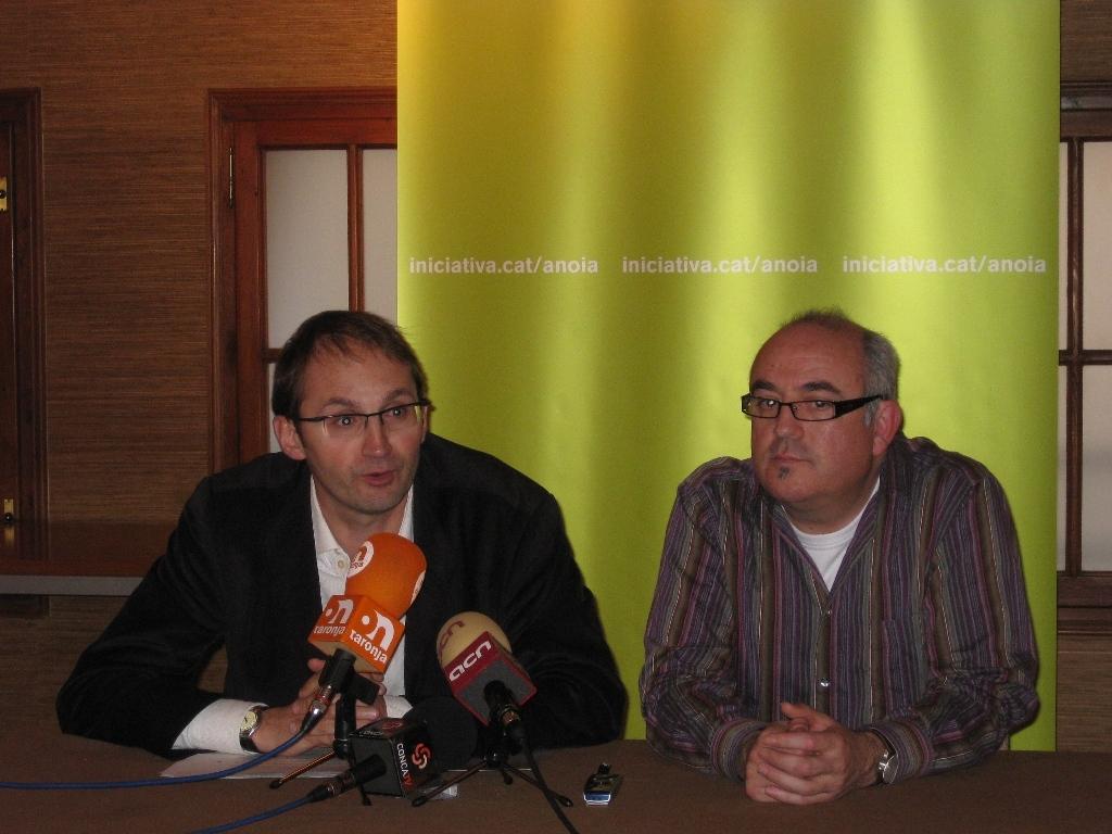 Joan Herrera i Eusebi Alonso