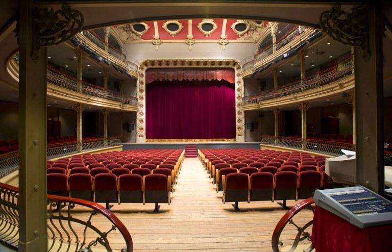 El Teatre Municipal l'Ateneu, en una imatge d'enguany