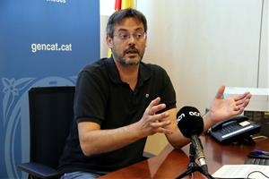 David Alquézar, en l'entrevista amb l'ACN