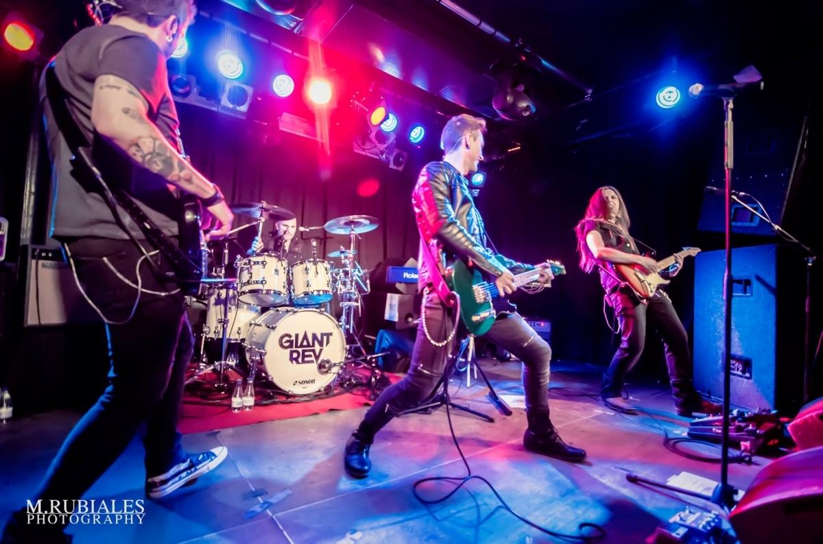 Giant Rev Shine, rock amb cantant igualadí per tancar el cicle el maig