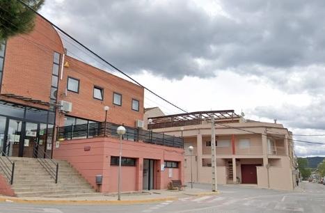 L'edifici on s'ubica el consultori del Barri Sant Pere
