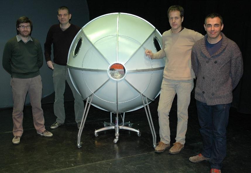 Esquerra a dreta: Òscar Balcells, Pep Elias, Joan Valentí, Marc Hervàs