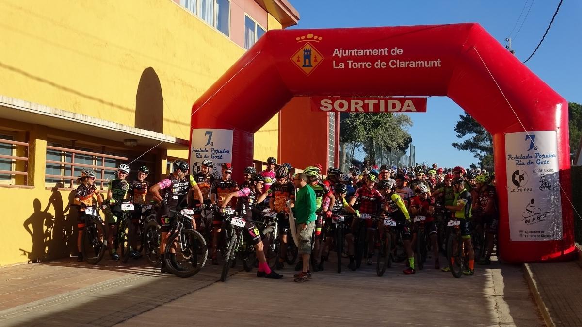 Els participants, just abans del tret de sortida