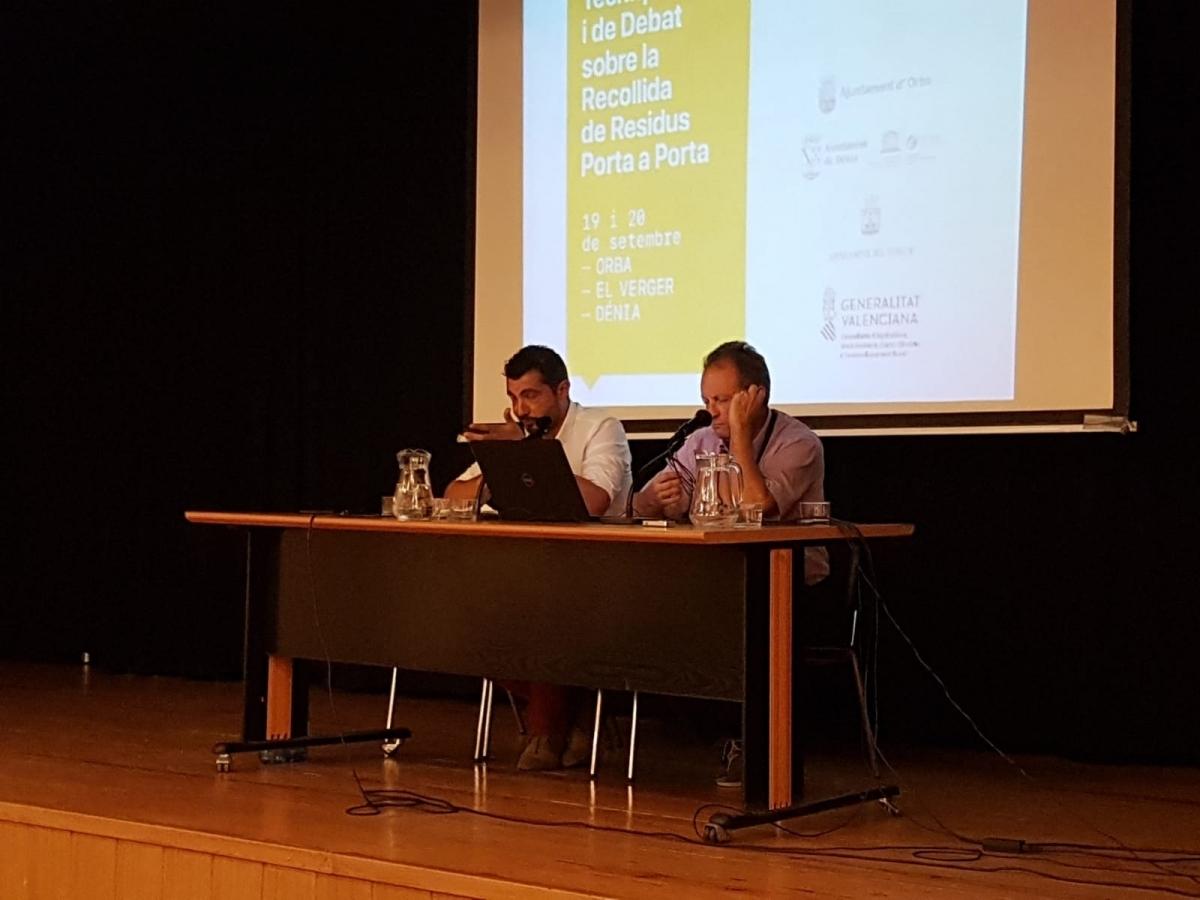 Sànchez, esquerra, i Jorba, a terres valencianes