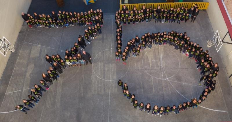 L'escola va celebrar el curs passat els 75 anys