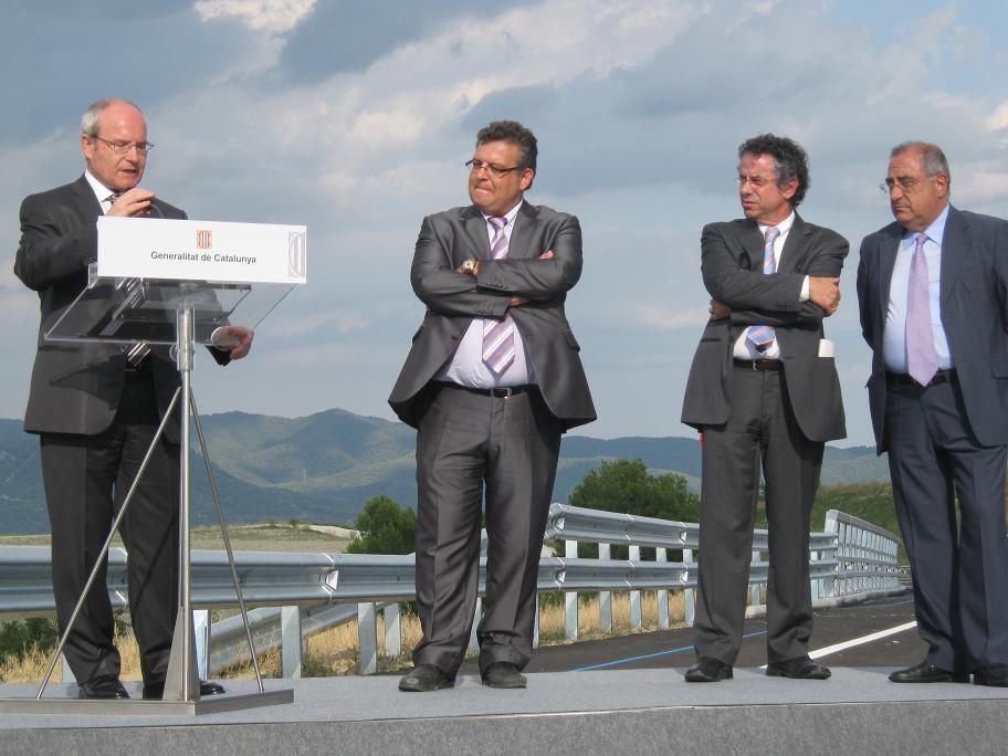 El president Montilla inaugura la ronda sud