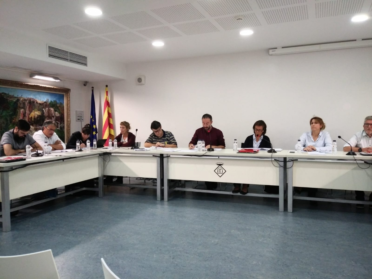 La sessió plenària d'aquest dimecres, que va tractar el cas de Joan Colom